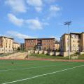 Founder's Village Apartments overlooking turf